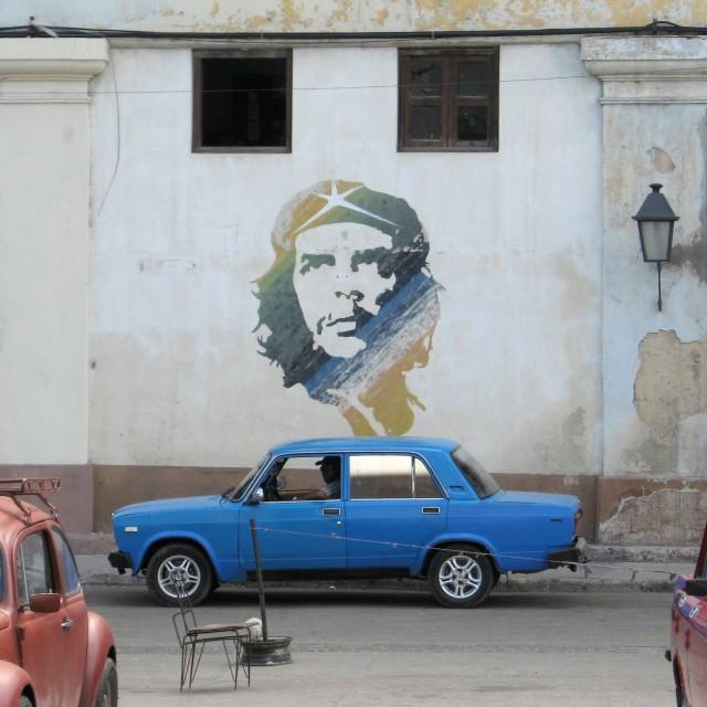 """Che mural, Havana"" stock image"