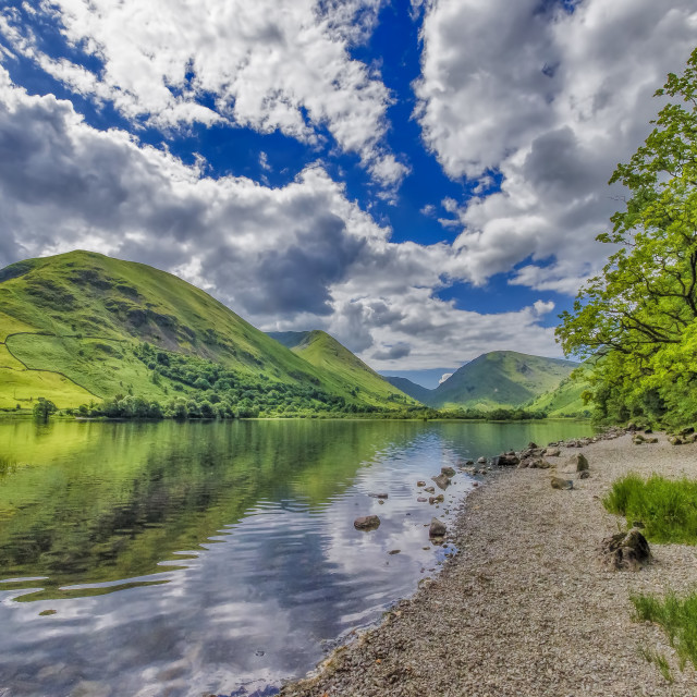 """Brothers Water Lake District"" stock image"