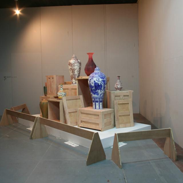 """Najinng Art Installation"" stock image"