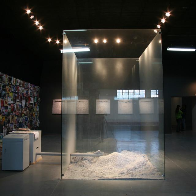 """Contemporary Asian Art"" stock image"