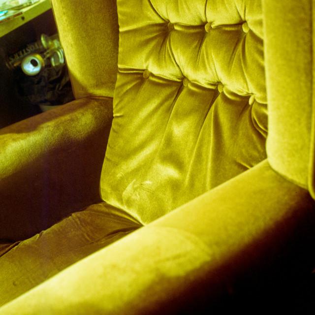 """""""Velvet Chair"""" stock image"""
