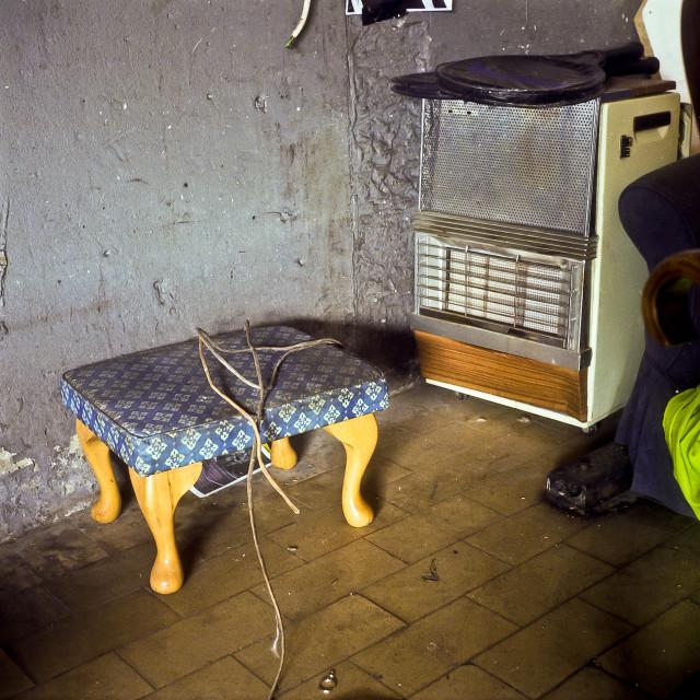 """""""Stool & Radiator, 2006"""" stock image"""