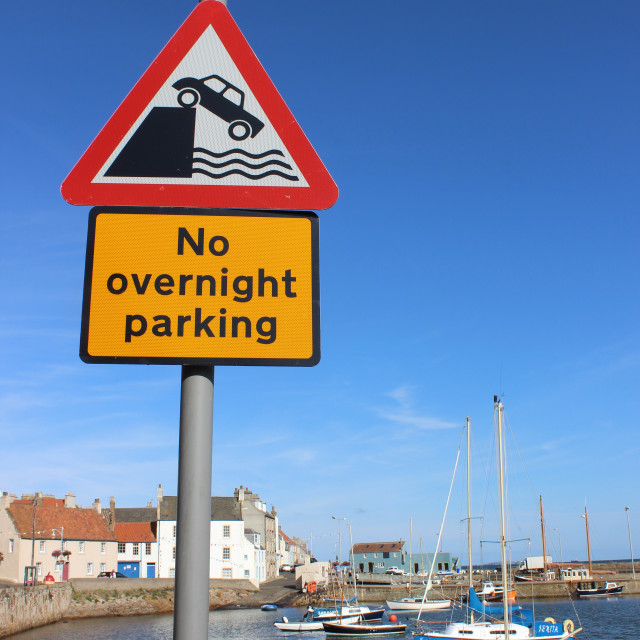 """Amusing road signs."" stock image"