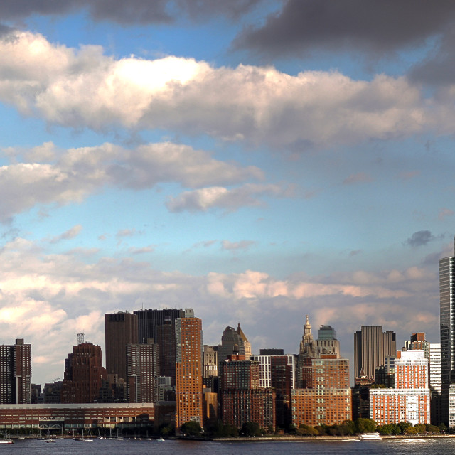 """Manhattan Skyline by day"" stock image"