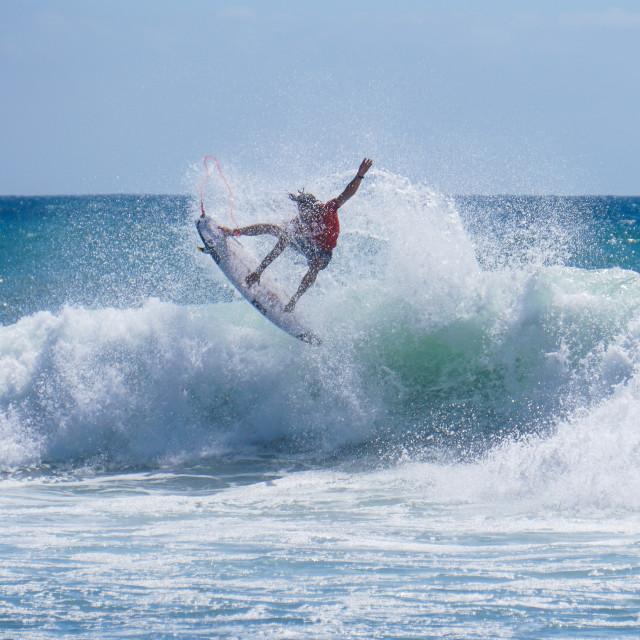 """Surfer Rotation"" stock image"