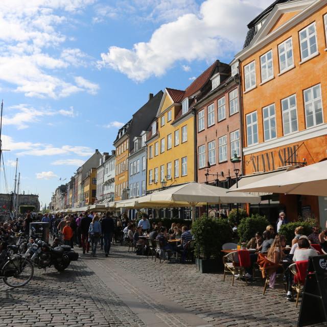 """""""Nyhavn Copenhagen"""" stock image"""