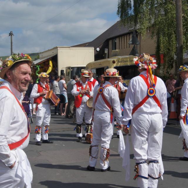 """""""Morris Dancers"""" stock image"""
