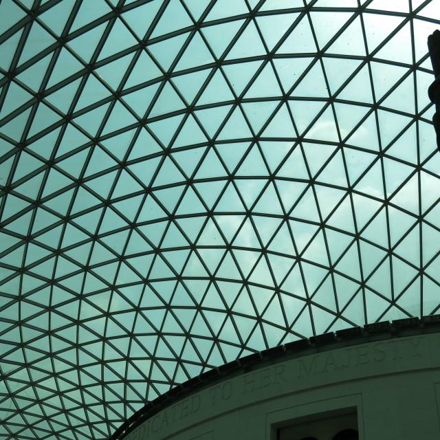 """Great Court, British Museum"" stock image"