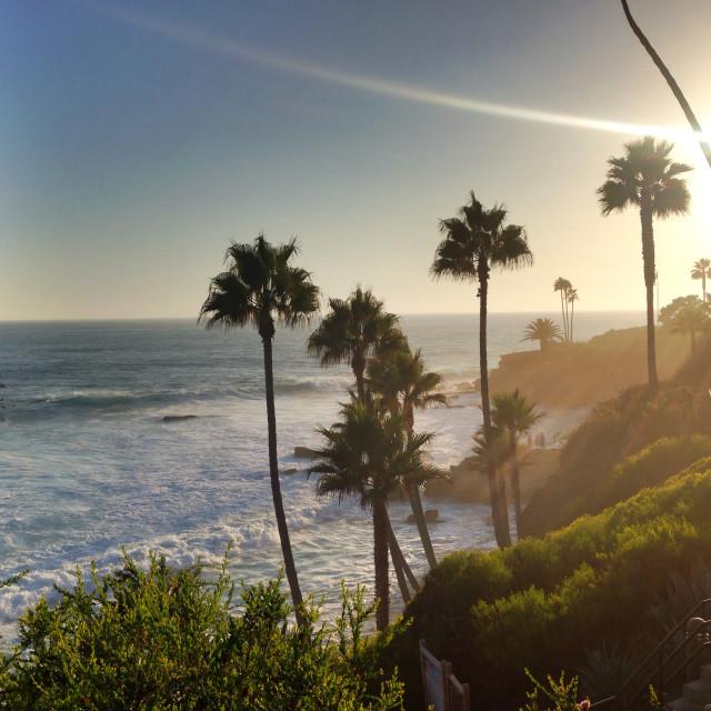 """""""Laguna Beach"""" stock image"""