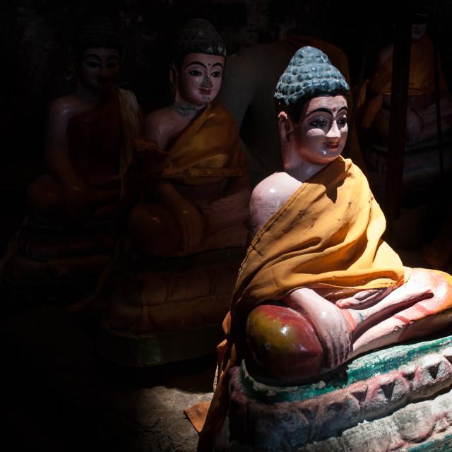 """""""Statue, SE Asia"""" stock image"""