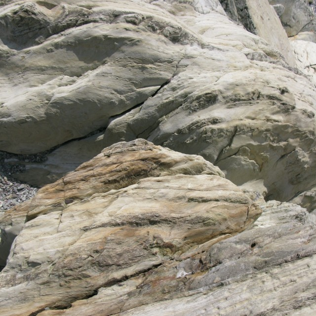 """Rock formation, slate"" stock image"