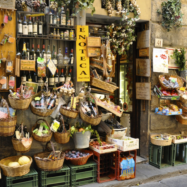"""Florence side street"" stock image"
