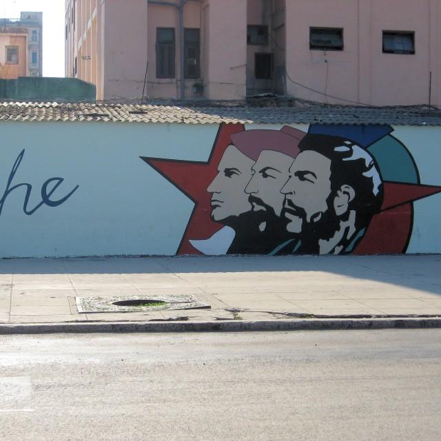 """Che Guevara mural, Havana"" stock image"