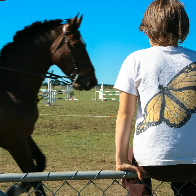 """Butterfly boy"" stock image"