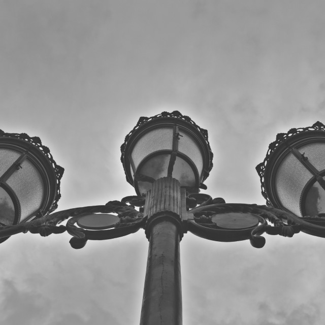 """Streetlamp"" stock image"
