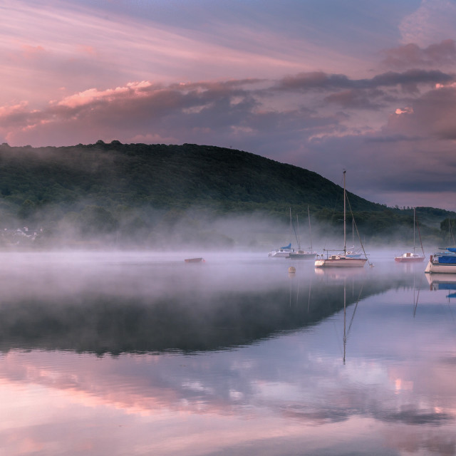"""Another day on Coniston"" stock image"