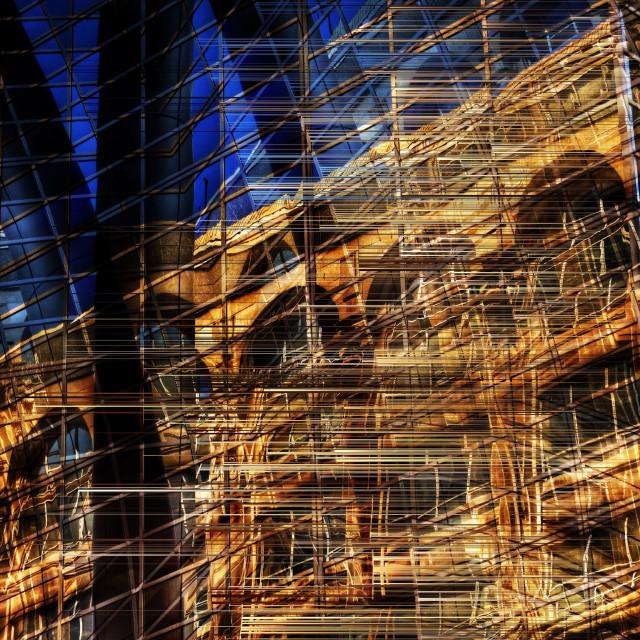 """""""Windows by Jean-François Dupuis"""" stock image"""