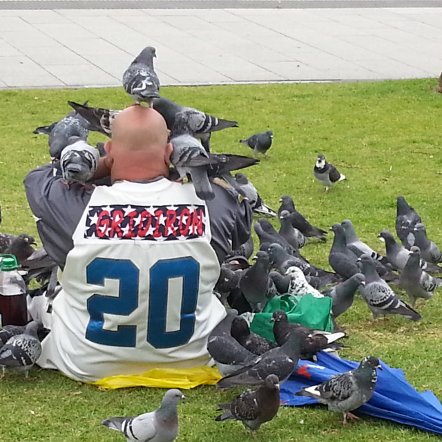 """Birdman"" stock image"