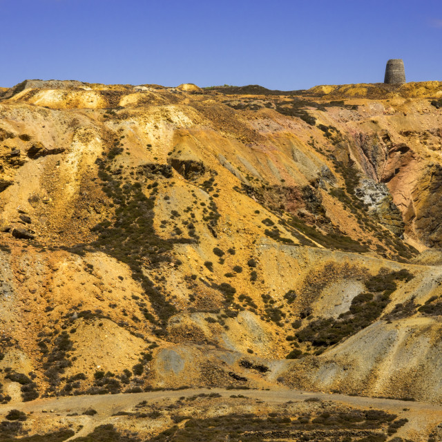"""Parys Mountain"" stock image"