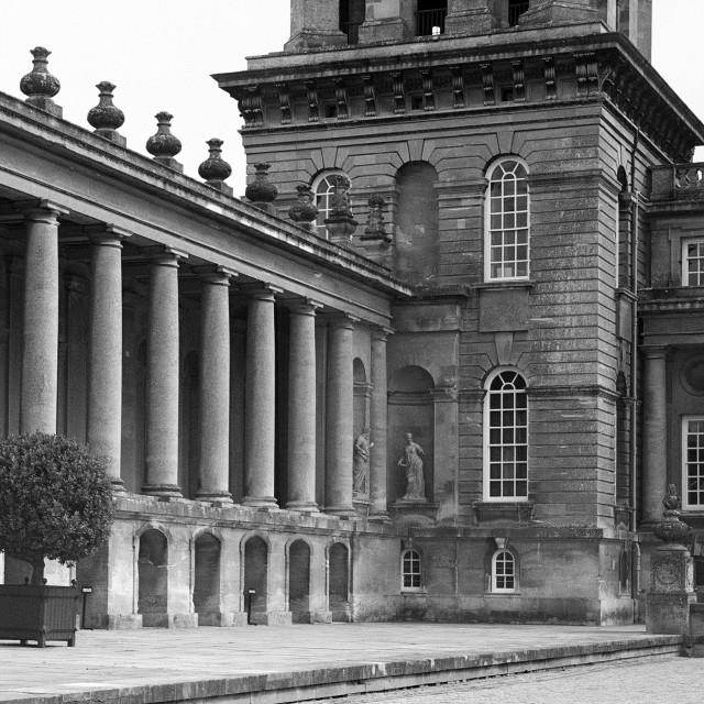 """Blenheim Palace (2)"" stock image"