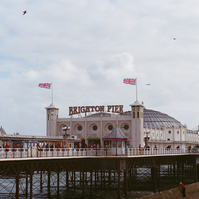 """Brighton Pier (2)"" stock image"