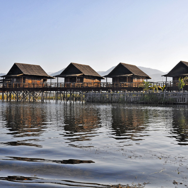 """STILT HOUSES"" stock image"