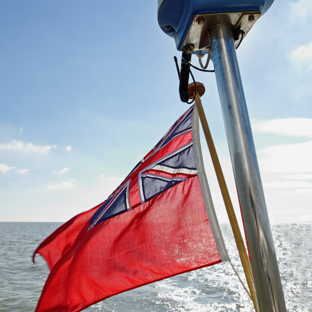"""UK Red Ensign"" stock image"