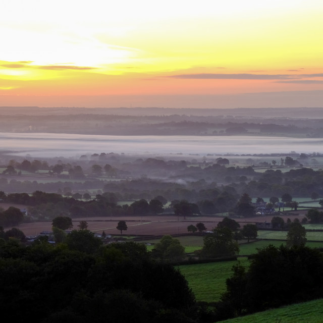 """""""The County Of Derbyshire ."""" stock image"""
