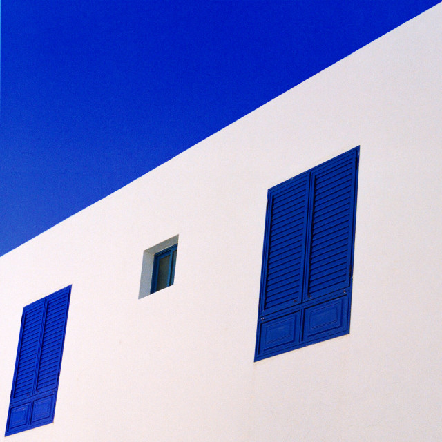 """Sky Blue (Square)"" stock image"