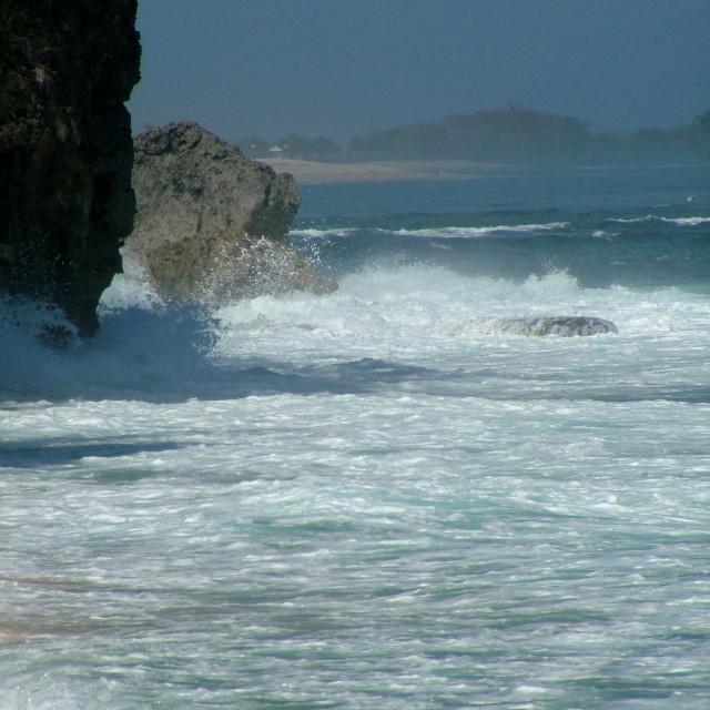"""bali coast"" stock image"