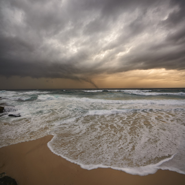 """Approaching Storm."" stock image"
