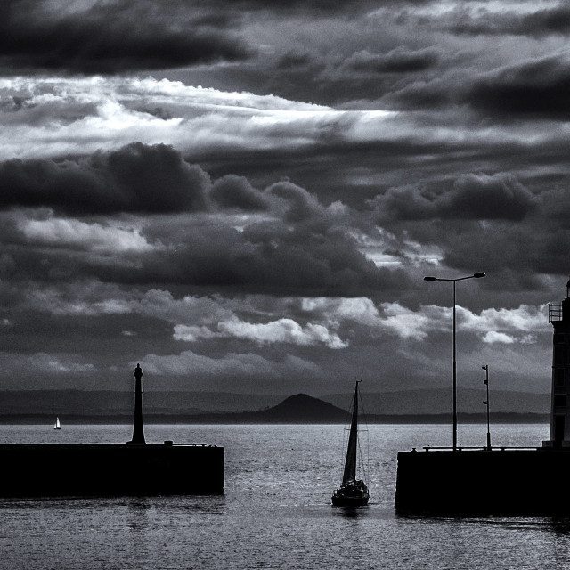 """Fife - Anstruther Harbour"" stock image"