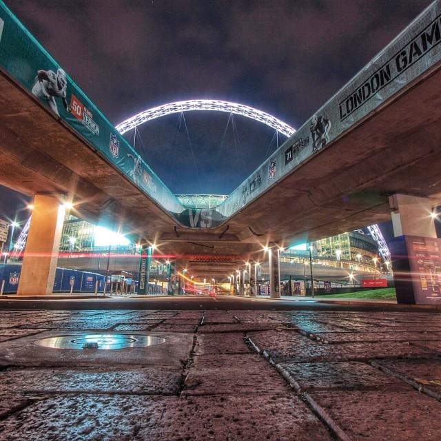 """""""NFL UK @ Wembley"""" stock image"""