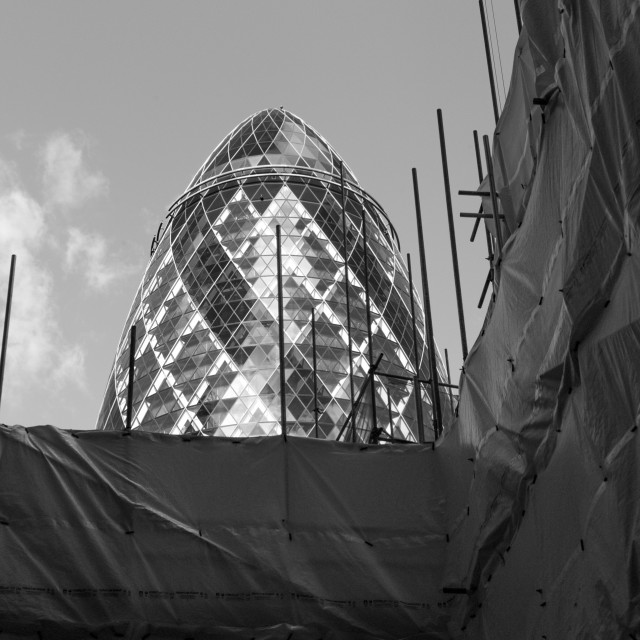 """30 St Mary Axe"" stock image"
