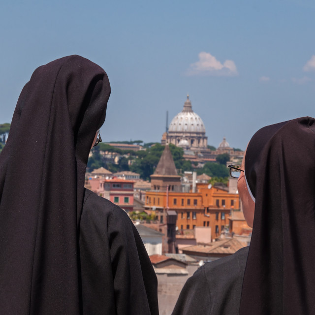 """Vaticano view"" stock image"