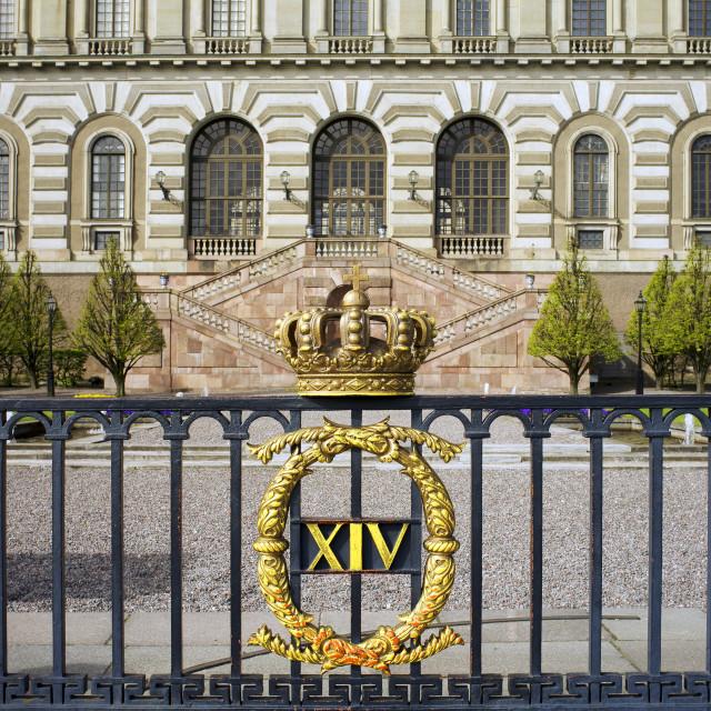 """Stockholm Royal Palace"" stock image"