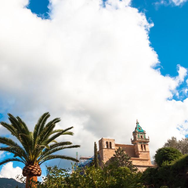 """""""La Cartuja Monastery"""" stock image"""