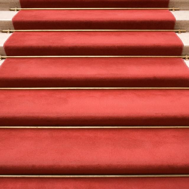 """Red Carpet"" stock image"