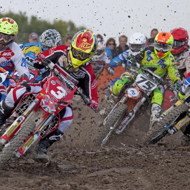 """""""motorcross racing"""" stock image"""