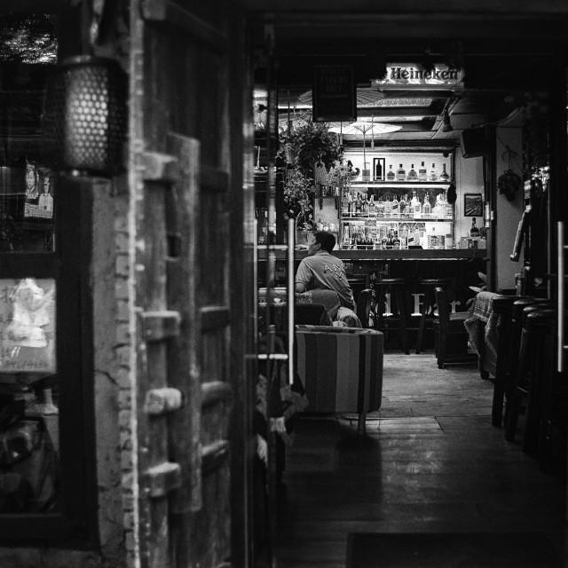 """""""Hutong bar"""" stock image"""