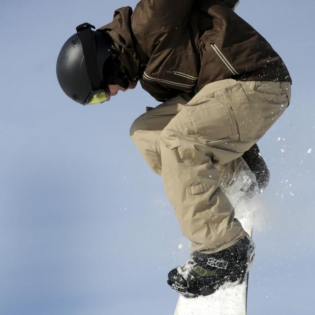 """snowboader"" stock image"