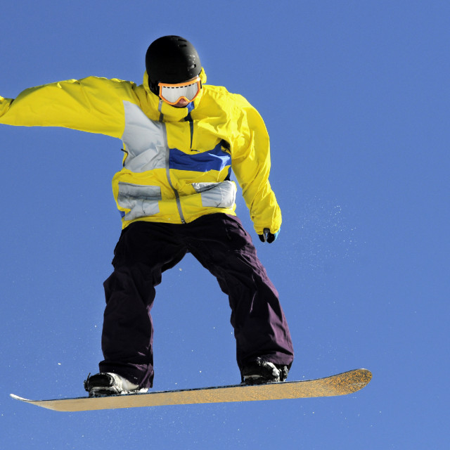 """snowboarder"" stock image"