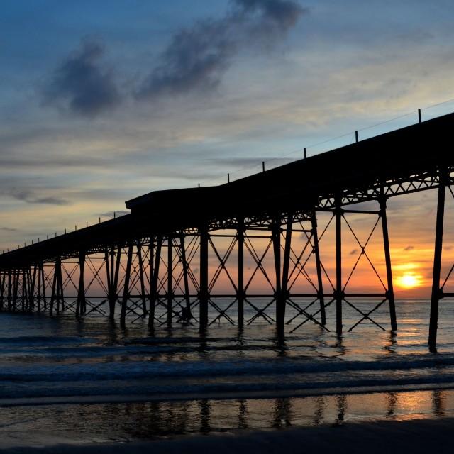 """""""Sunrise on the horizon"""" stock image"""