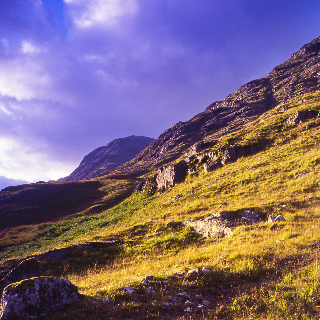 """Mountainside"" stock image"
