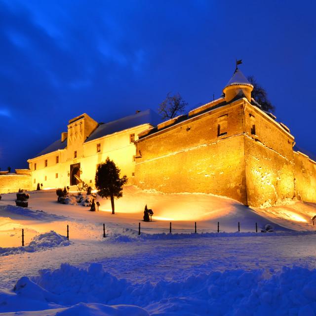 """Citadel of Brasov, Romania"" stock image"