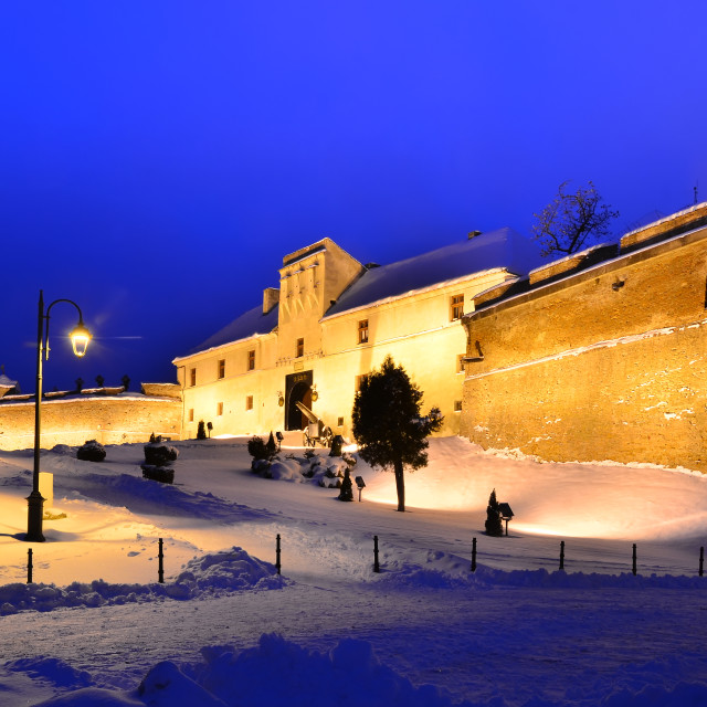 """Fortress (Citadel) of Brasov, Romania"" stock image"