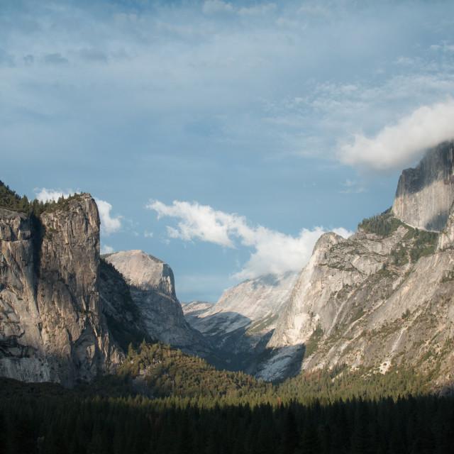 """Yosemite Valley."" stock image"