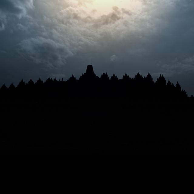 """Borobudur Temple"" stock image"