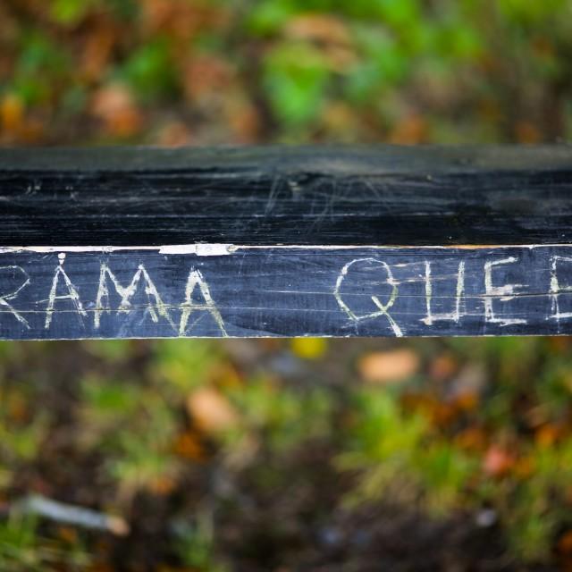 """Drama Queen"" stock image"