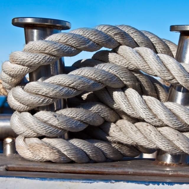"""Bundle of rope"" stock image"